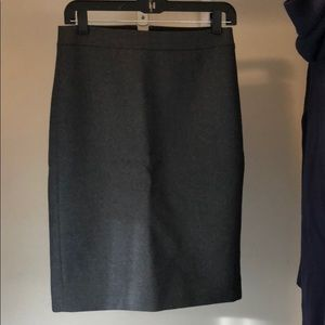 Jcrew wool pencil skirt